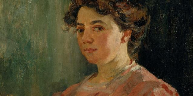 La artista pintó gran cantidad de retratos, pero también cultivó otras temáticas