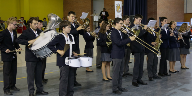 Imatge d'arxiu de la Banda de Música del Col·legi Pare Manyanet de Barcelona, una de les participants del cicle