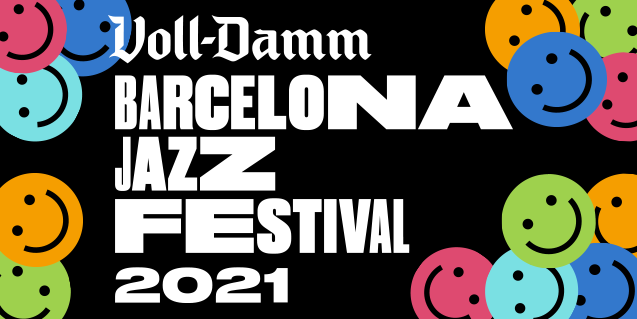 Graphic image of the 53 Voll-Damm Barcelona Jazz Festival