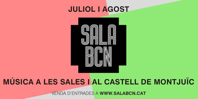 Sala Barcelona, de l'1 de juliol al 29 d'agost