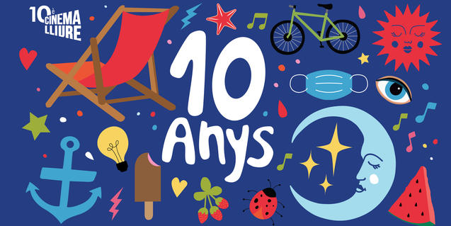 10 years of Cinema Lliure a la Platja
