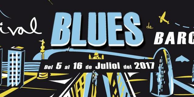Cartell del XV Festival de Blues de Barcelona
