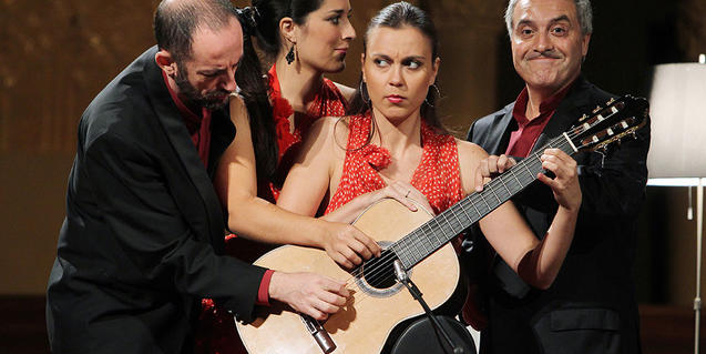 Barcelona 4 Guitars subirá al escenario del Palau de la Música
