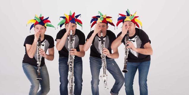 Fotografía del grupo de música