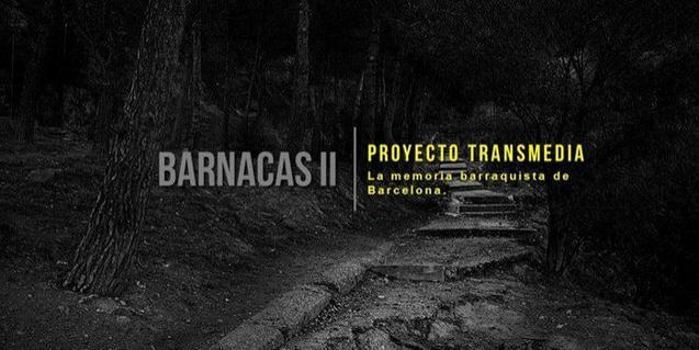 La portada del documental mostra un camí que s'endinsa en un bosc on hi havia hagut les barraques de Francisco Alegre