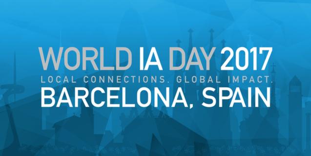 World IA Day Barcelona, el congreso sobre el diseño y la arquitectura web