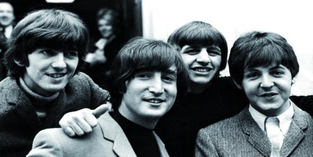 Una foto de archivo de los Beatles.