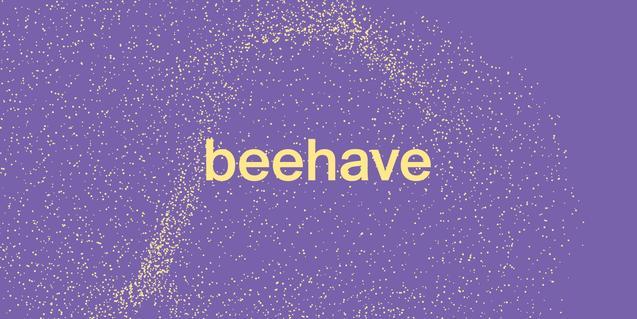 Logo de la exposición Beehave