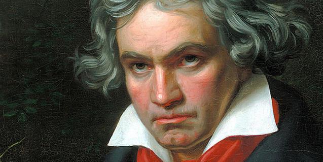 Beethoven a través del pinzell de Joseph Karl Stieler