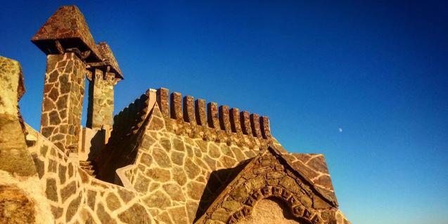 Detall de la Torre Bellesguard