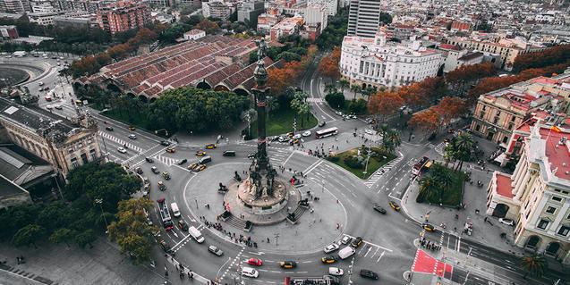 Imatge de carrers de Barcelona