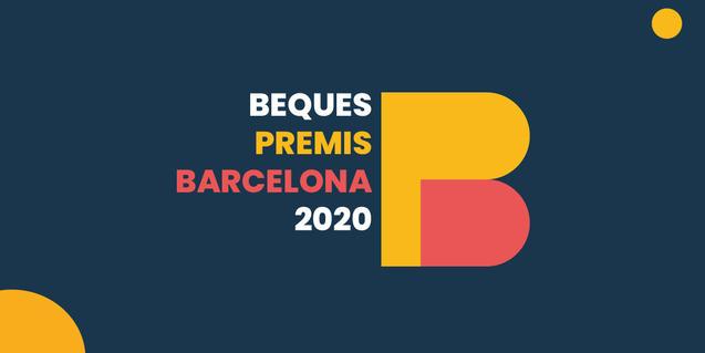 Imagen de las becas Premios Barcelona 2020
