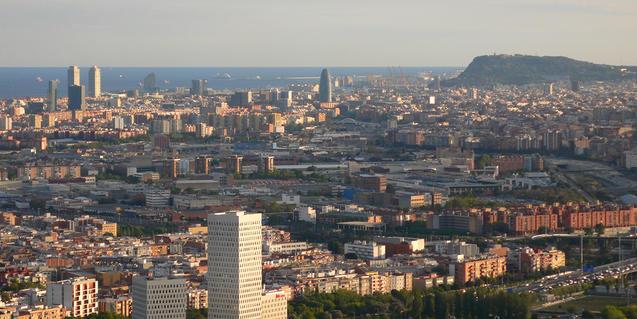 Imagen de la zona urbana del Besòs