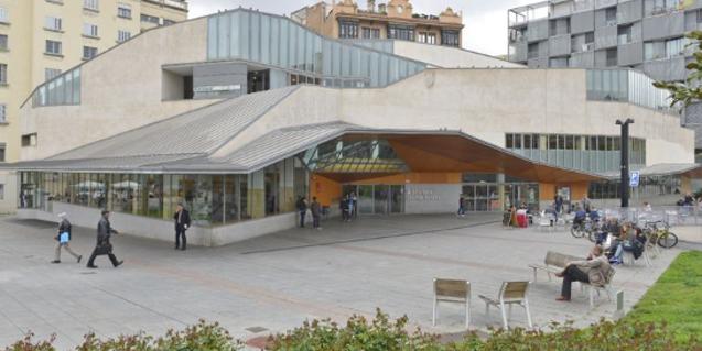 Exterior de la Biblioteca Jaume Fuster