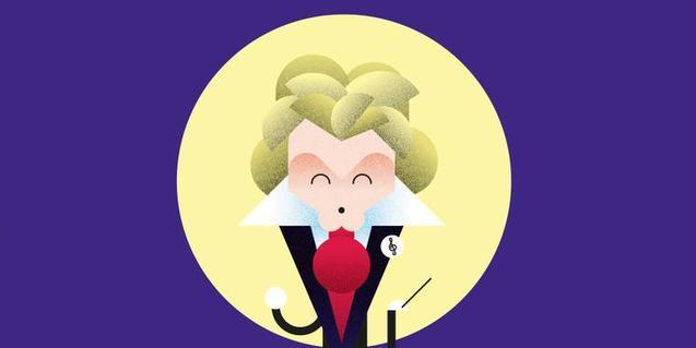 Il·lustració de Beethoven