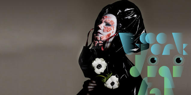 An image from the exhibition 'Björk digital'