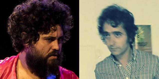 Retrato de los dos músicos y poetas que actúan el viernes en Heliogàbal