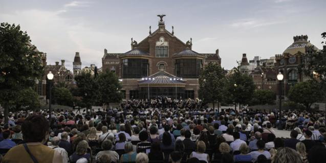 Concert at Sant Pau Art Noveau