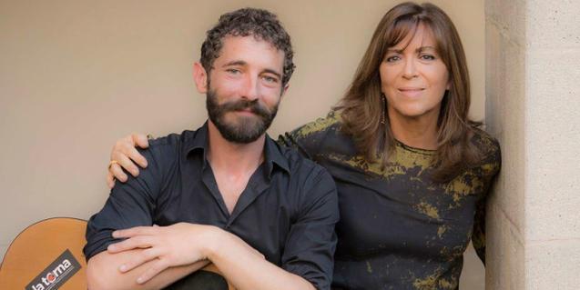 Borja Penalba i Maria del Mar Bonet. Foto: Juan Miguel Morales