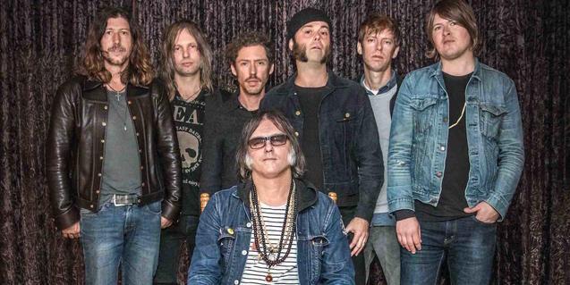 Una imatge del membres de la banda nord-americana