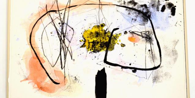 """Una de les litografies de Fusako Yasuda a l'obra """"Tri"""""""