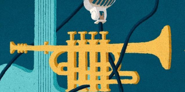 El dibuix d'una trompeta serveix de cartell per a l'edició d'enguany