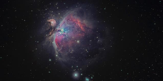 Imagen de la nebulosa de Orión