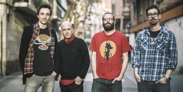 Una imagen de la banda de Sant Feliu de Guíxols Bullitt
