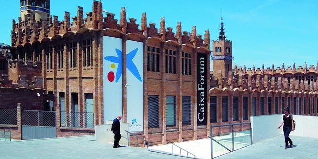 L'antiga fàbrica Casaramona és la seu de CaixaForum Barcelona. Foto: Antonio Lajusticia Bueno.