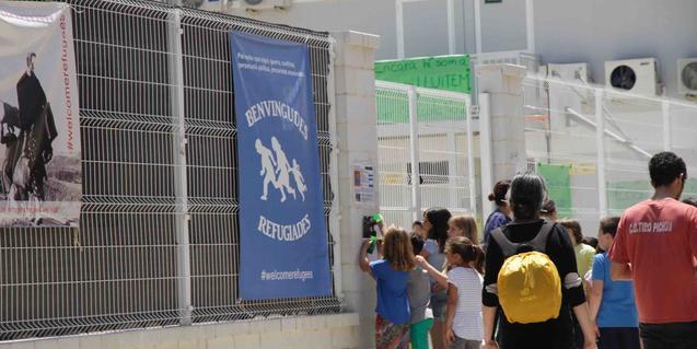 Una de les iniciatives ciutadanes a les quals fa referència l'exposició
