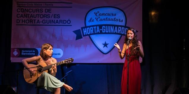 Concurso de Cantautores/as de Horta-Guinardó