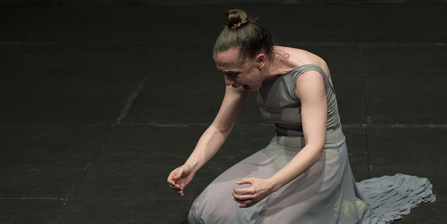 Carmen Muñoz a 'Bailes de histéricas'