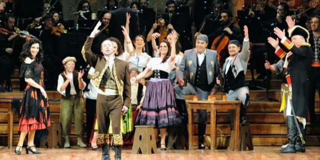 Un moment de l'espectacle que es podrà veure al Palau de la Música