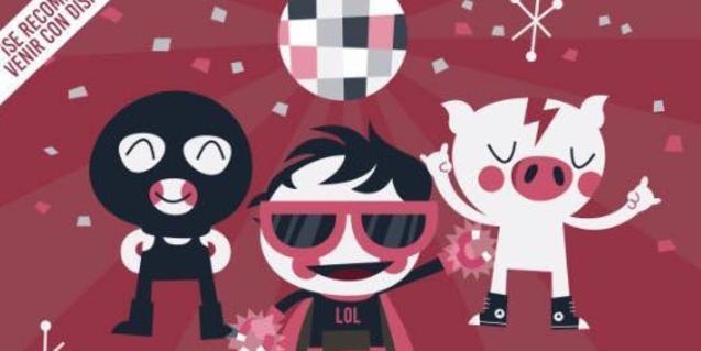 Imagen del cartel que anuncia el Carnaval de Love of Lesbian