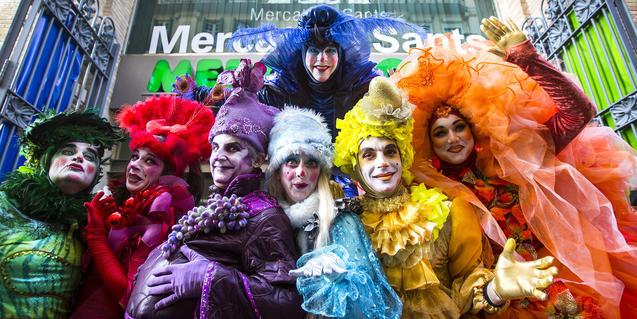 Los disfraces son uno de los reclamos del Carnaval.