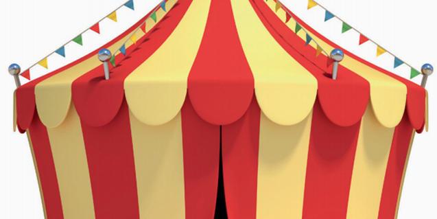 Dibuix carpa de circ