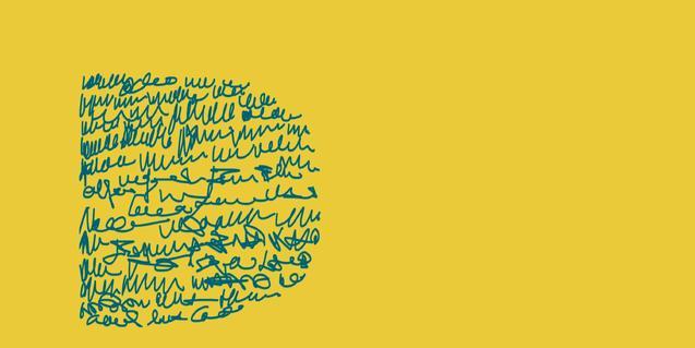 Logo que aparece en el cartel del ciclo 'Diàlegs, les altres cares del llibre'