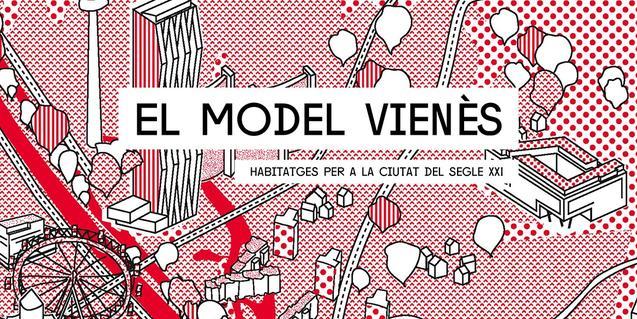 Cartell de l'exposició sobre el model vienès d'habitatge