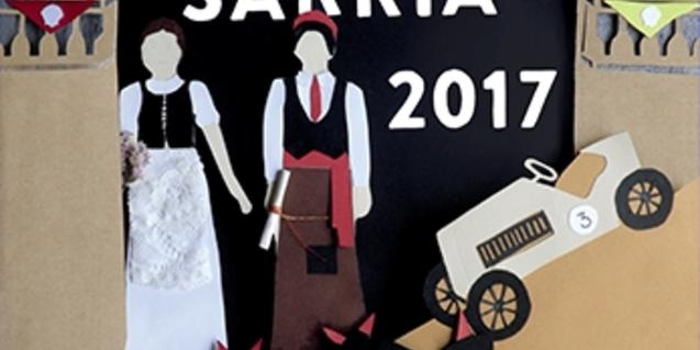 A poster for the Sarrià neighbourhood festival