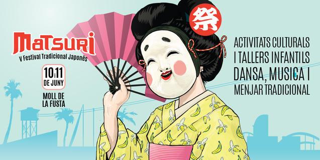 Cartel del festival Matsuri de este año