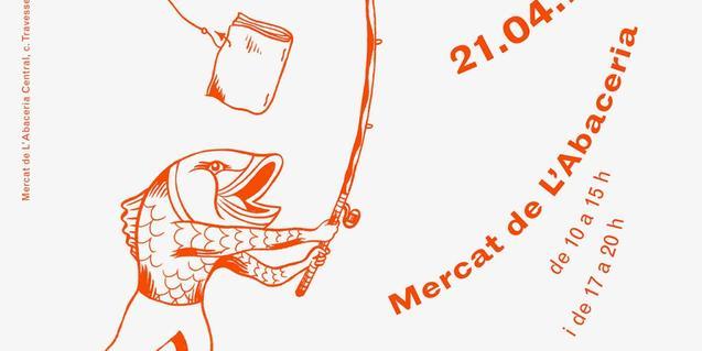 Imatge parcial del cartell de la primera edició de la fira FRESCA!