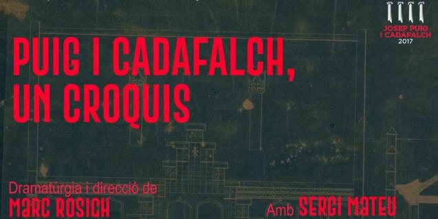 El cartel del monólogo que se representará el 30 de septiembre