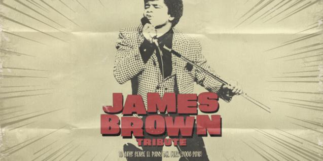 James Brown (1933-2006) és un dels grans noms de la música soul i funk