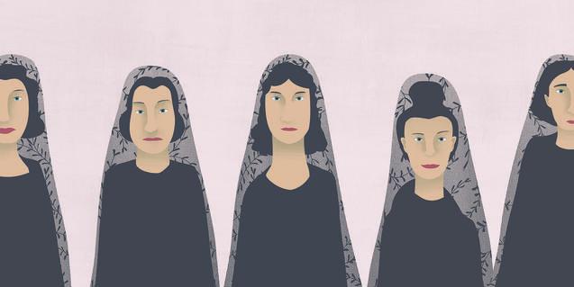Il·lustració d'Ana Yael per a 'La casa de Bernarda Alba'.