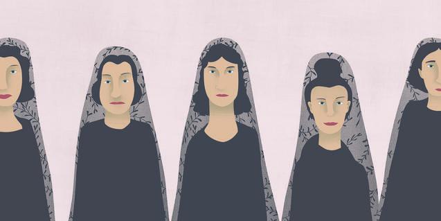 Ilustración de Ana Yael para 'La casa de Bernarda Alba'.
