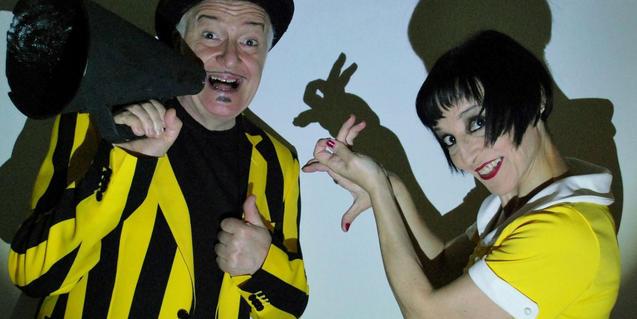 Brando y Silvana presentan 'Sombras mágicas'.