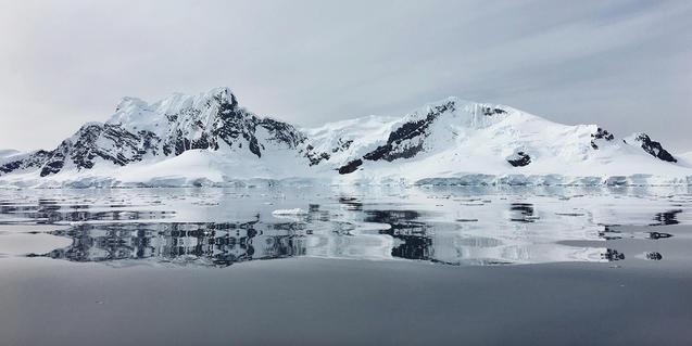 Imagen de la Antártida
