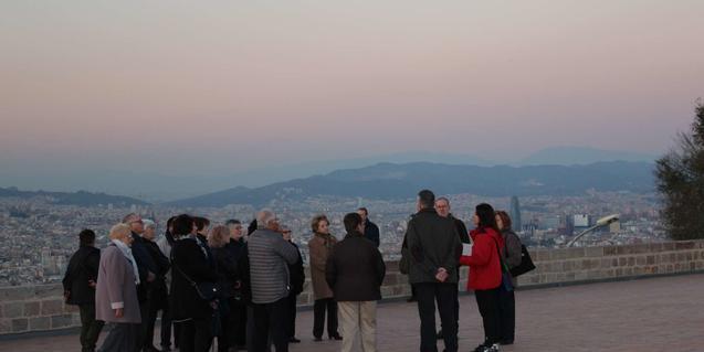 Visita guiada en el Castillo de Montjuic