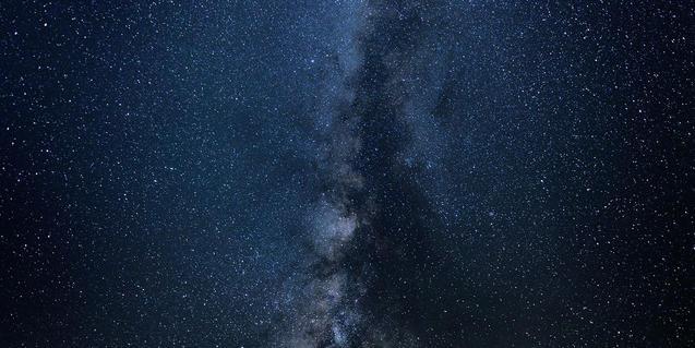 Imatge de la Via Làctia i del firmament