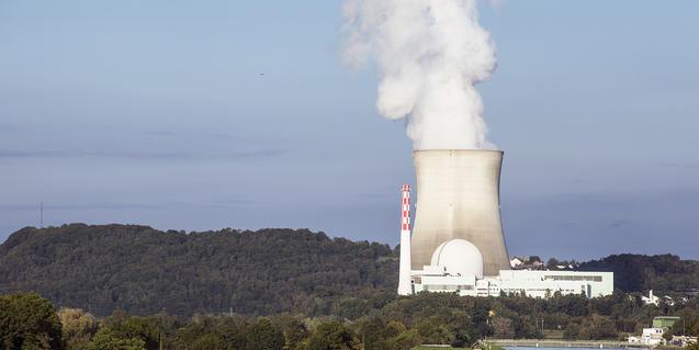Imatge d'una central nuclear